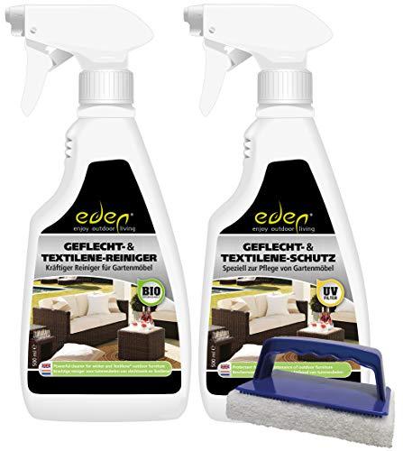 Eden Kit de cuidado para trenzas, textileno, resina trenzada y Batyline