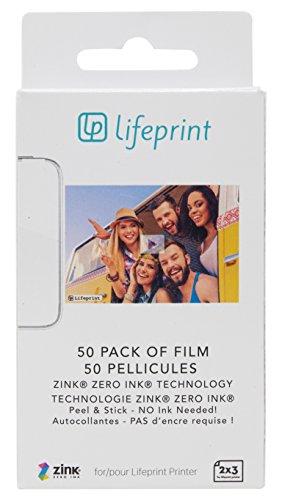 Lifeprint - Paquet de 50 films 2x3