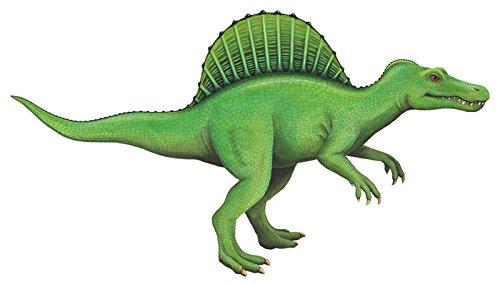 Spinosaurus Dinosaur Sticker mural par les parois du sauvage – Créez des dinosaures sur le thème des salles – Chambre d'enfant ou de classe. Unique Artiste Drawn amovible Décoration murale – Taille 137.2 x 76.2 cm. Qualité Dinosaure illustrations.