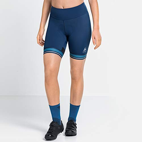 Odlo Zeroweight Ceramicool Pro Collant pour Femme S Estate Blue.