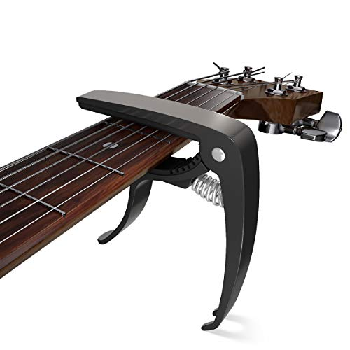 Gitarre Kapodaster Capo Capodaster Kapo für alle 6-Saitige Gitarren Akustikgitarre Konzertgitarre Westerngitarre Klassische Gitarre