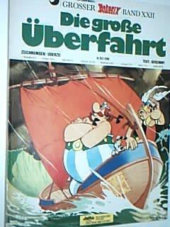 Die große Überfahrt, 1. Auflage 1976, Grosser Asterix Band XII, Delta Ehapa Comic-Album