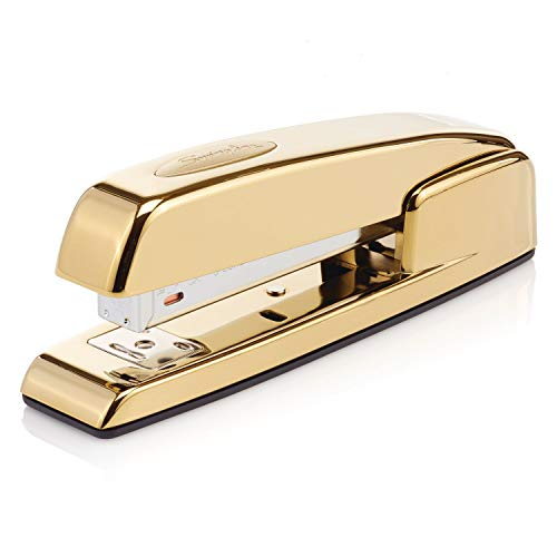 Swingline Stapler, 747, Manual, 25 Sheets Capacity, Business, Desktop, Gold Metallic (S7074721AZ)