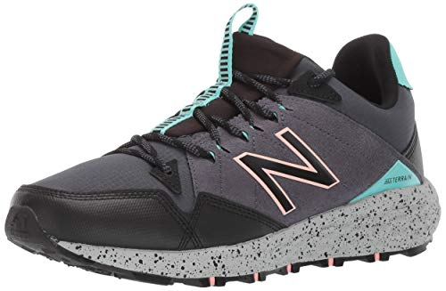 New Balance Fresh Foam Crag V1 - Zapatillas de correr para hombre, Marrón (Thunder/Negro/Light Tidepool), 38.5 EU