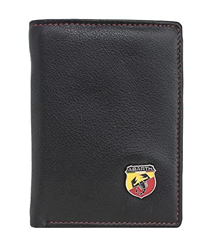 Abart Car Logo Genuine Leather Wallet (Schwarz Red)