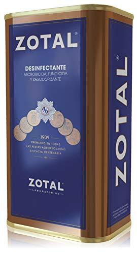 Zotal desinfectante, fungicida y desodorizante 205ml.