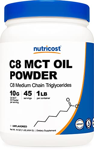 Nutricost C8 MCT Oil Powder