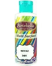 Artebella 3401130 Multi Surface Boya 130cc Beyaz
