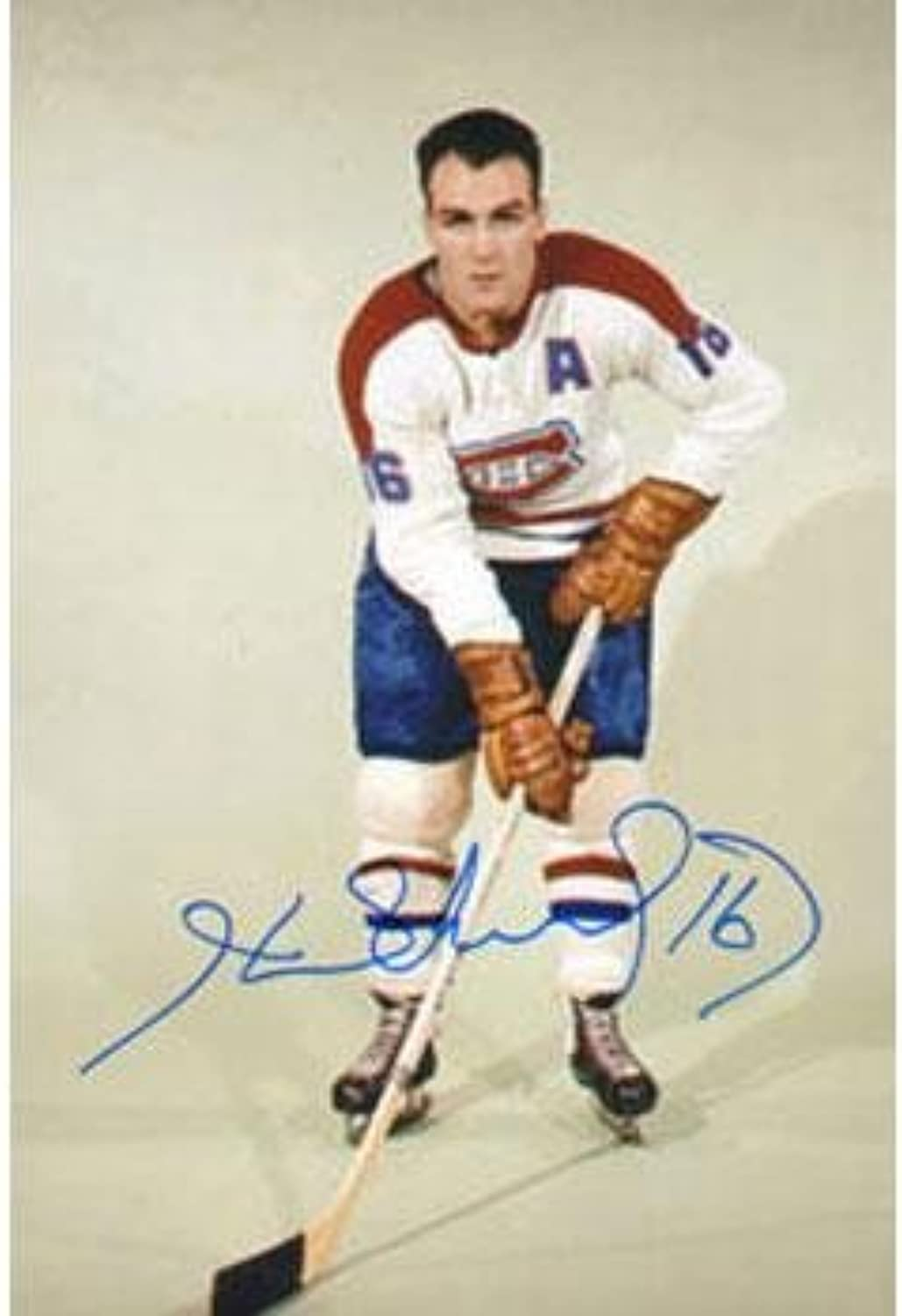 Signed Richard Picture4x6Autographed NHL Photos