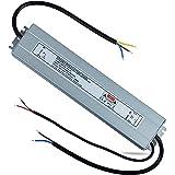 REYLAX® Driver LED 12V 100W 8.3A, 0-10V & TRIAC Regulación, IP67 Impermeable, Transformador de Conmutación de CA a CC, Fuente de Alimentación de Voltaje Constante, Driver de Bajo Voltaje Para LED