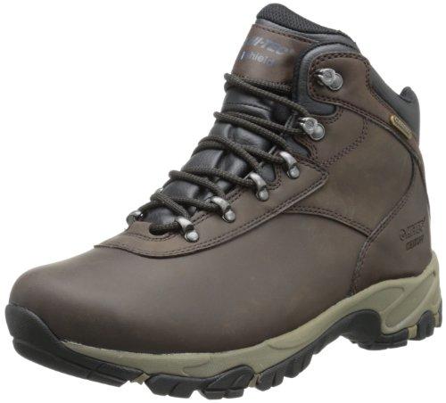Hi-Tec Men's Altitude V I Waterproof Hiking Boot,Dark Chocolate/Dark Taupe/Black,12 M US