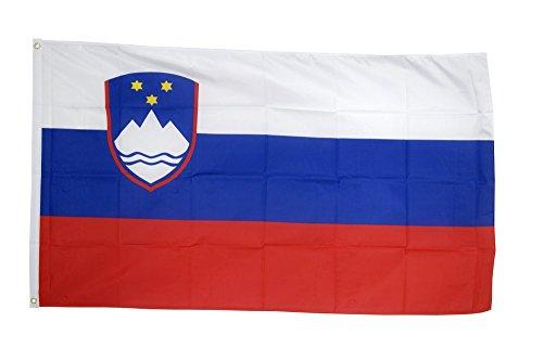 Flaggenfritze Fahne/Flagge Slowenien + gratis Sticker