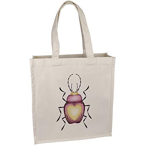 Azeeda 'Liebe Bug' Tragetasche aus Baumwolle (BG00023255)