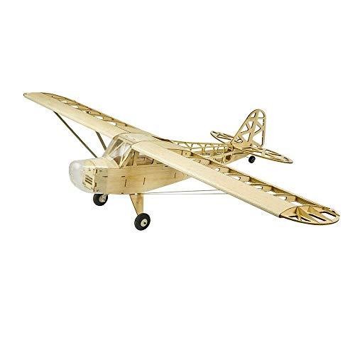 Torcster Piper J-3 1200mm Holzbaukasten Modellflugzeug für RC