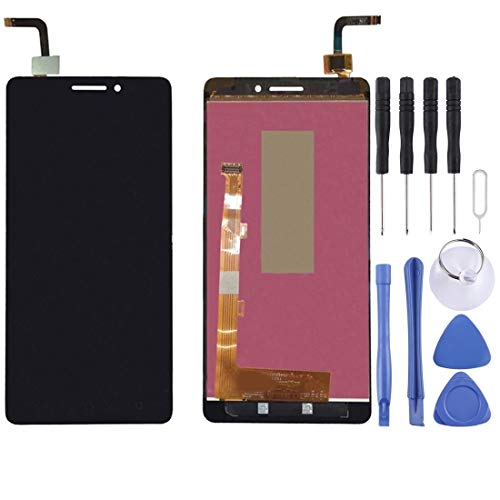Zhouzl Lenovo LCD Screen LCD Screen and Digitizer Full Assembly for Lenovo VIBE P1M / P1ma40 / P1mc50 TD-LTE(Black) Lenovo LCD Screen (Color : Black)