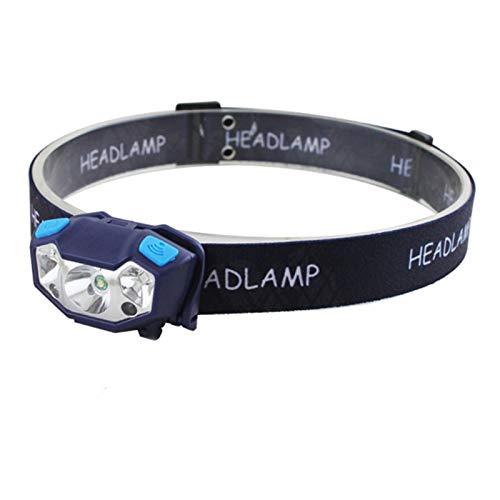 MISSLIU 6000Lm Potente Faro Recargable LED Faro Cuerpo Sensor De Movimiento Linterna De Cabeza Lámpara De Luz De Antorcha De Camping con USB