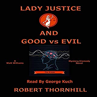 Lady Justice and Good vs Evil audiobook cover art