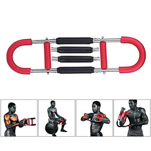 Energía Twister, mama expansor de la fuerza del brazo de bar, Brazo Antebrazo ejercitador Extensor de pecho para el brazo, bíceps, abdomen, hombro y el músculo pectoral entrenamiento de la fuerza 4