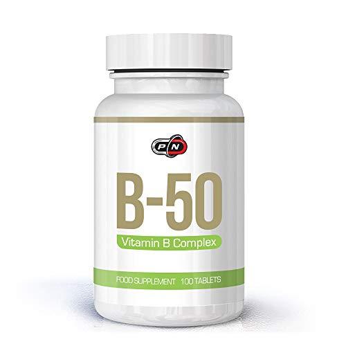 Vitamin B Complex High Strength 100 Vegan Tablets 11 Active Ingredients Vitamins B12 B6 Thiamin Riboflavin Niacin Folic Pantothenic Acid Biotin Anti Stress Immune System Support Energy Production