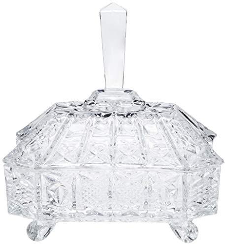 Bomboniere em Cristal Ecológico L'Hermitage Multicor 21.5 cm Pacote de 1 Vidro
