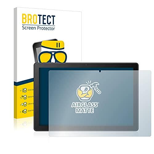 "BROTECT Protector Pantalla Cristal Mate Compatible con Alcatel 3T 10"" 4G 2021 Protector Pantalla Anti-Reflejos Vidrio, AirGlass"