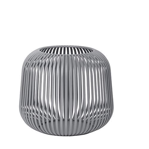 Blomus - Laterne - Windlicht - Steel Gray - Small - Maße (ØxH): 20,5 x 17 cm