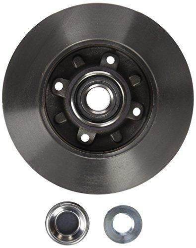 Brembo 08.9512.27 Hintere Bremsscheibe mit integriertem Lager und ABS