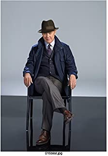 The Blacklist James Spader as Raymond Reddington Seated Promo Wearing Hat 8 x 10 inch Photo