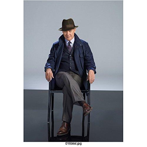 The Blacklist James Spader as Raymond Reddington Seated Promo Wearing Hat 8 x 10 inch Photo