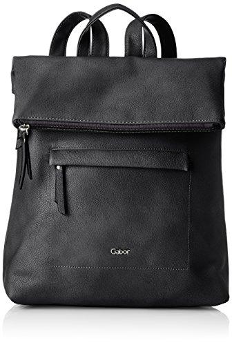 Gabor 7980 bags MINA Damen Rucksack M, black, 24x10x25