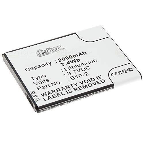 cellePhone Akku Li-Ion kompatibel mit Caterpillar CAT B15 B15Q (Ersatz für B10-2)
