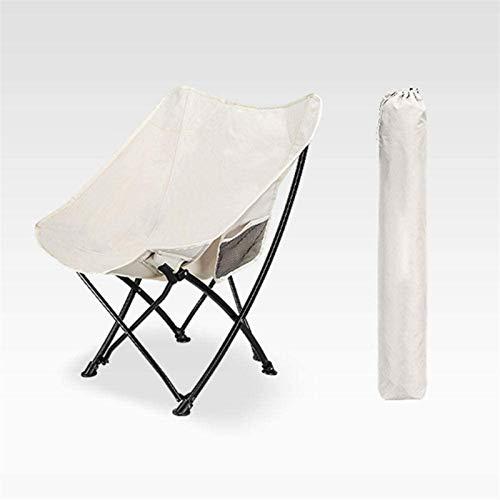 XINGDONG Faltbarer Strandstuhl, Metallrahmen, kompakte ultraleiche faltende Rucksackstühle, zusammenklappbarer faltbarer verpackbarer Rucksackstuhl in einer Tasche für den Außenlager Picknick Wandern-