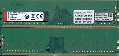 KINGSTON 8GB 2400MHz DDR4 ECC CL17 DIMM 1Rx8 Micron E
