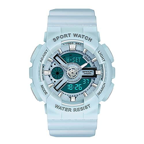 Lvmiao Reloj de Verano Unicornio, Estudiantes de la Escuela Secundaria Moda Big Dial Tendent Watch, Reloj de Cuarzo de cinturón de Cuero Impermeable,8