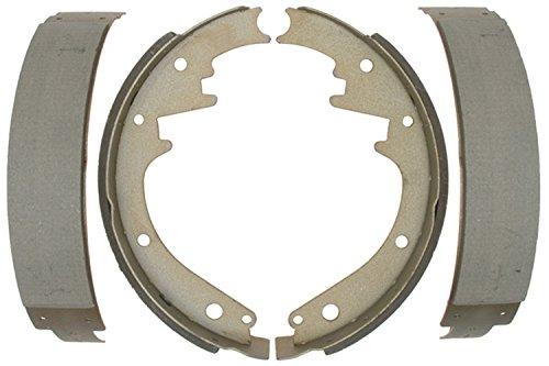 ACDelco 14228B Advantage Bonded Rear Brake Shoe Set