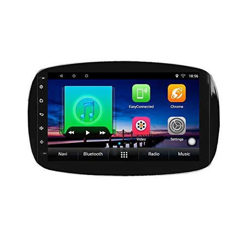 Lettore multimediale DVD per auto Android 10.0 GPS per Smart Fortwo Forfour 2014 2015 2016 2017 2019 navigazione stereo per autoradio