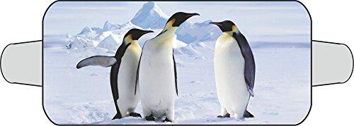 carstyling XXL Thermo-Scheibenschutz (für die Frontscheibe) Motiv: Pinguin ~ schneller Versand innerhalb 24 Stunden ~