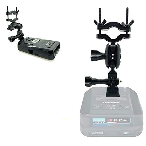 AccessoryBasics Rearview Mirror Stem Radar Detector Mount for Uniden R1 R3 R7 DF1 DFR2 DFR3 DFR4 DFR5 DFR6 DFR7 DFR8 DFR9 Radar Detector