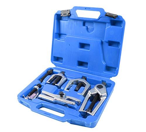 HMF - Juego de 6 llaves para coche Extractor de rótula, rótula de dirección, rótula