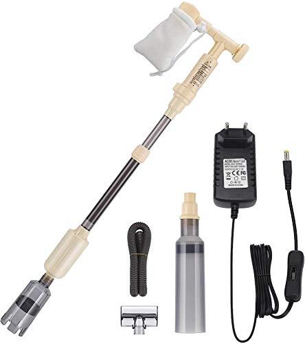 bedee Aquarium Reiniger, Fish Tank Gravel Cleaner Aquarium Sauger Scheibenreiniger Vacuum Siphon Pumpe mit Einstellbare Durchflussregelung für Wasserwechsel/Sand Filter/Algen Reinigung