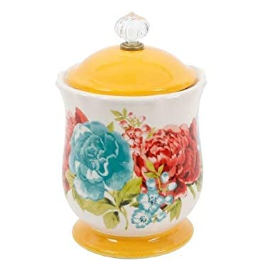 The Pioneer Woman Blossom Jubilee Sugar Pot, 5  tall and 4  in diameter