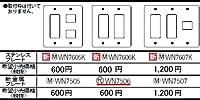 Panasonic(パナソニック電工) 配線器具 [フルコート加工]新金属プレート6コ用 WN7506