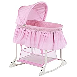 small Dream On Me Willow Cradle, Pink