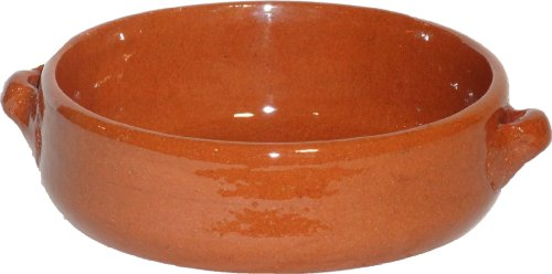 Amazing Cookware - Piatto Fondo in Terracotta Naturale 13 cm