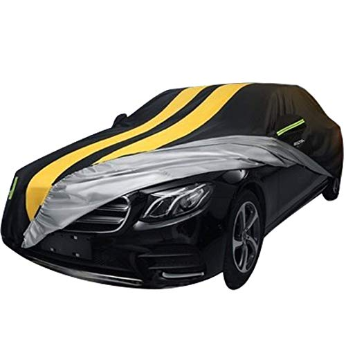 N / A Che-vr-ol-et Thickened Custom Car Cover, Customized Version, Easy to Clean, Windproof Cream, Sunscreen, High Temperature Resistance, Scratch Resistance - Universal in All Seasons c.