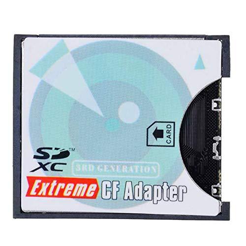Appareil Photo SD SDHC SDXC vers adaptateur de Carte mémoire Compact Flash CF Type I Haute Vitesse