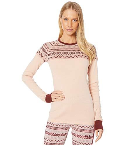 Kari Traa Women's Lokke Base Layer Top - Long Sleeve Wool Thermal Shirt, Pale, Large