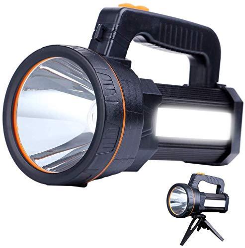 Potente linterna recargable LED AF-WAN, portátil, para hacer búsqueda, linterna superbrillante, 9000...