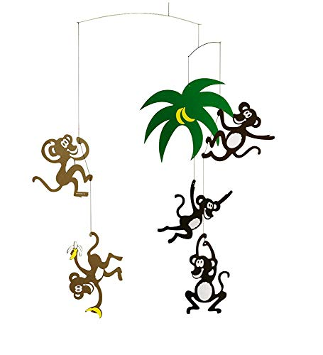Mobile Monkey Tree