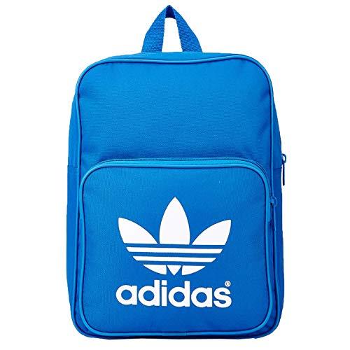 adidas Originals Mini Backpack Vintage Rucksack kleine Tasche Blau Weiß, Farbe:Blau, Größe:One Size